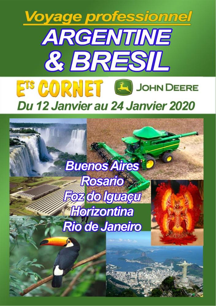 DERNIER DÉLAI POUR S'INSCRIRE ! - Voyage Argentine & Brésil 2020
