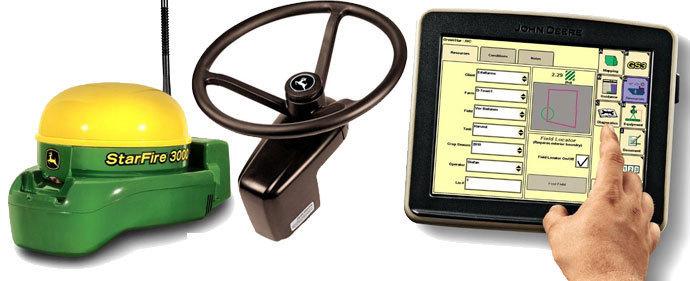 Système de guidage RTK pour Case IH