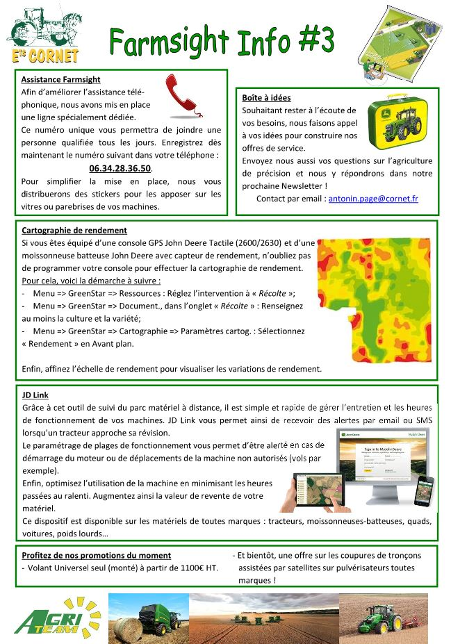 Farmsight  info n°3