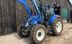 Tracteur New Holland occasion