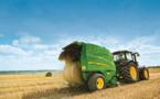 Automation de la combinaison tracteur-presse à balle ronde